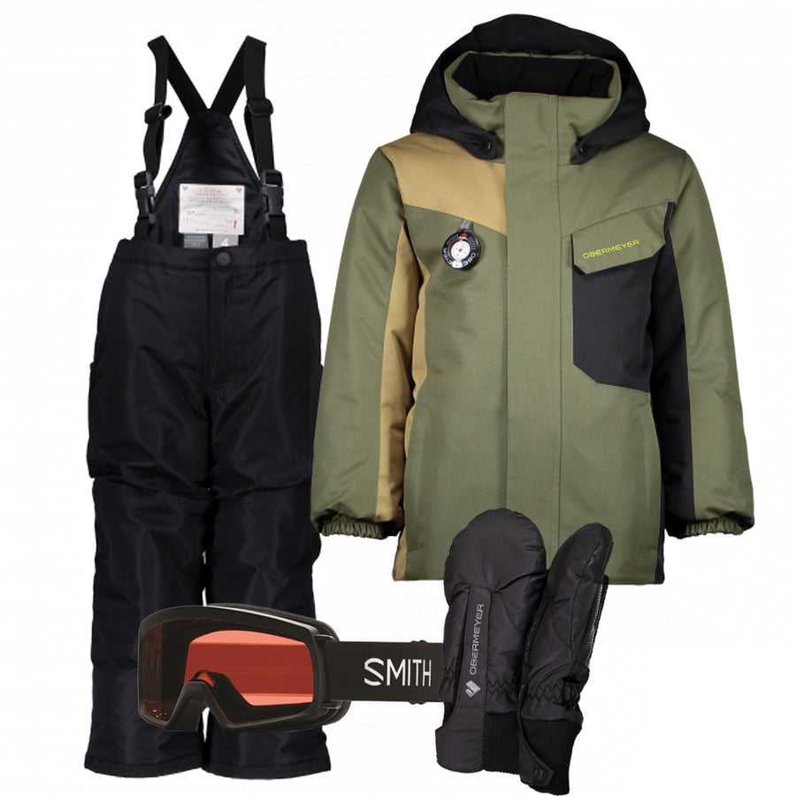 Children's Ski Gear Outfit (Canopy/Black)