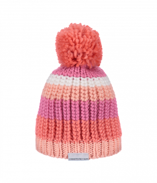 Kid's Knit Hat (Peach)