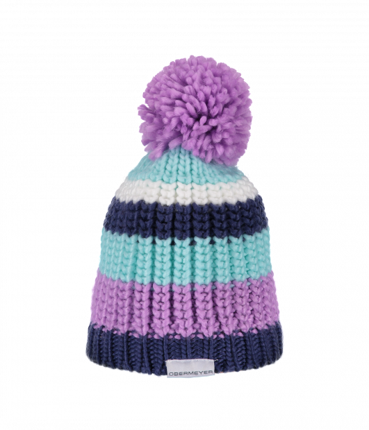 Kid's Knit Hat (Violet)