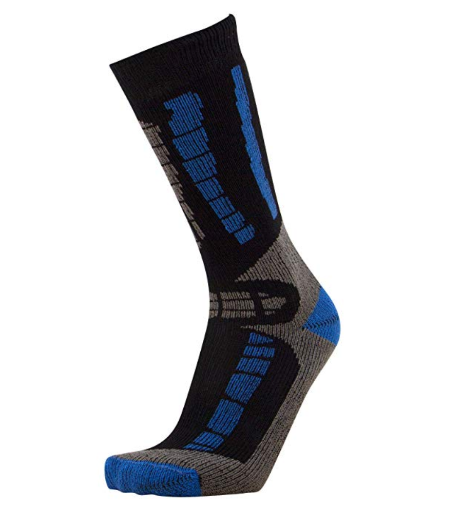 Youth Merino Ski Socks (Blue)