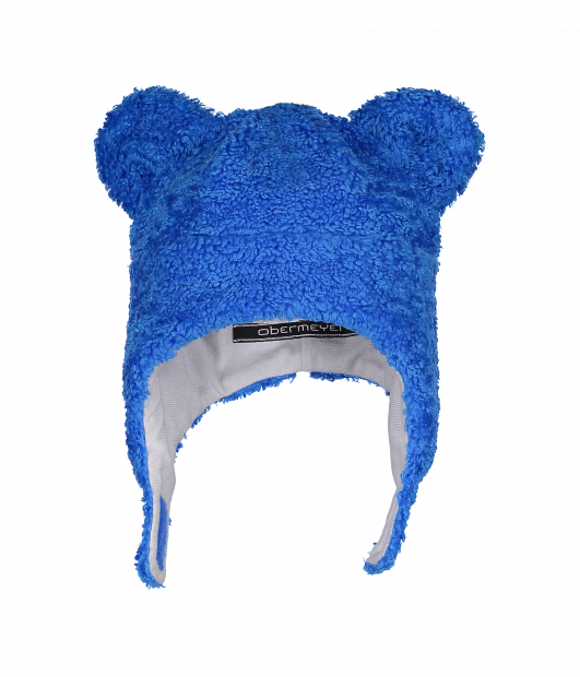 Kid's Ted Fur Hat (Blue)