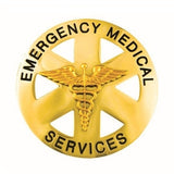 Generic Emergency Medical Services Round Badge