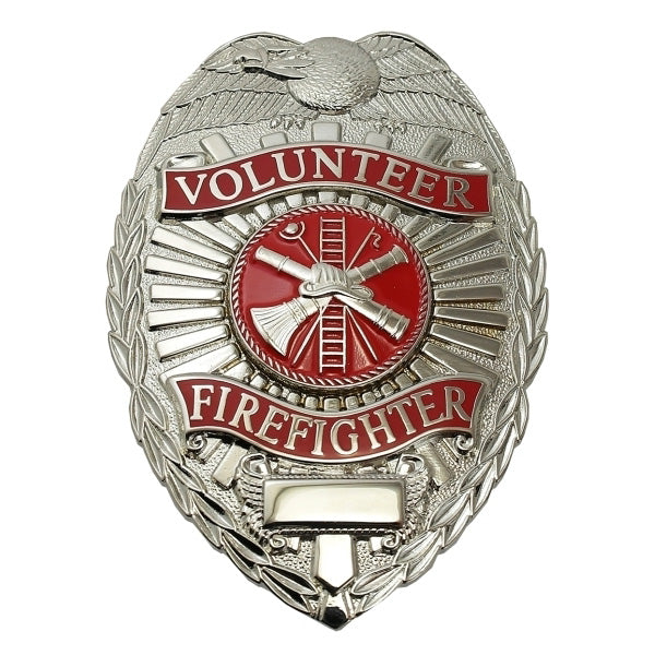 Generic Volunteer Firefighter Badge - Scramble Center