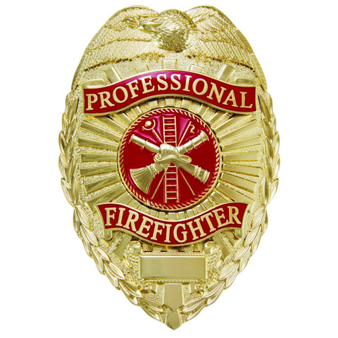 Generic Professional Firefighter Badge - Scramble Center
