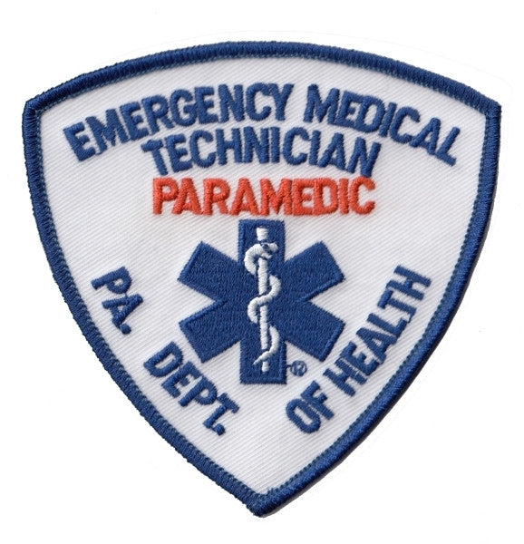 Pa Emt Paramedic Embroidered Uniform Patch The Bravest Decals