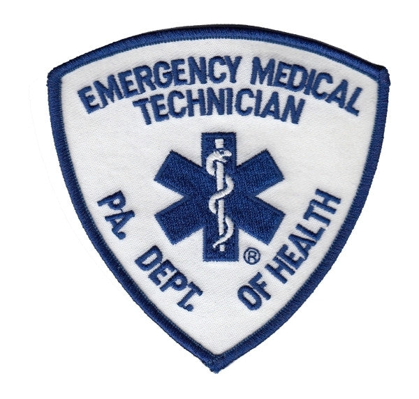 Pennsylvania EMT Embroidered Uniform Patch – The Bravest Decals