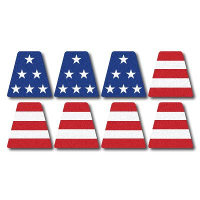 American Flag Helmet Top 6-Part
