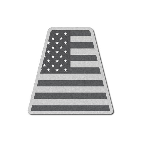 Reflective Tactical USA Flag Tetrahedron
