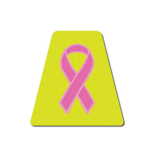 Breast Cancer Awareness Ribbon Tetrahedron