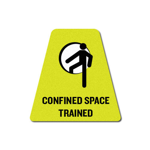 "Confined Space Trained 2"" Triangle"