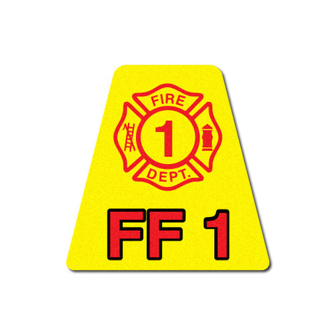 Firefighter Level 1 Trained Tetrahedron