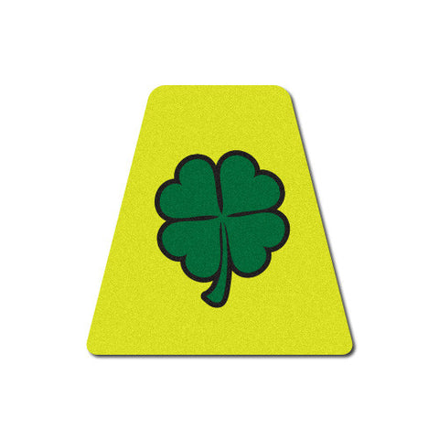 Reflective Green Shamrock