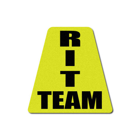Reflective RIT - Rapid Intervention Team Triangle