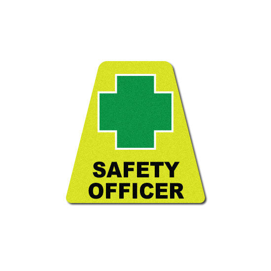 Reflective Yellow Safety Officer Tetrahedron