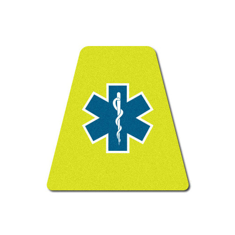 Reflective EMS Star of Life Tetrahedron