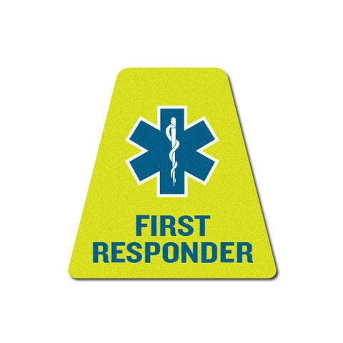 Reflective EMS First Responder Tetrahedron