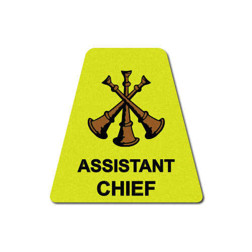 Yellow Assistant Chief Horns Tetrahedron