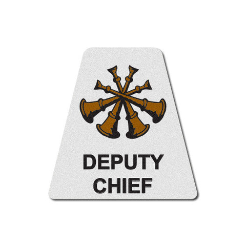 White Deputy Chief Horns Tetrahedron