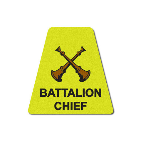 Yellow Battalion Chief Horns Tetrahedron