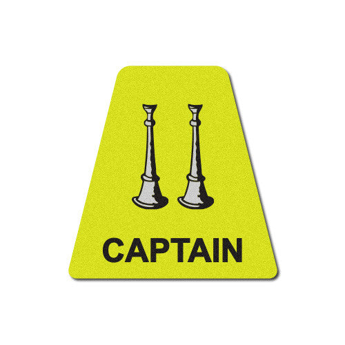 Yellow Captain Horns Tetrahedron