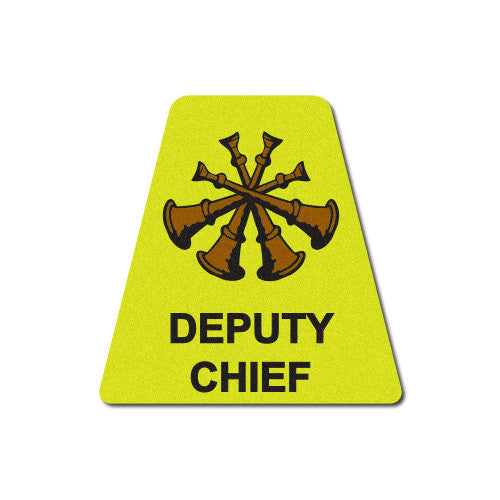 Yellow Deputy Chief Horns Tetrahedron