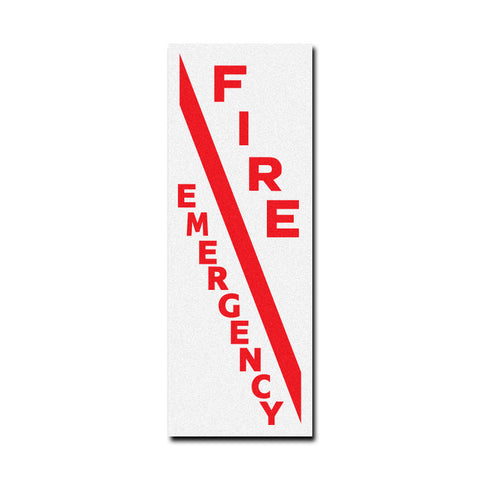 Gamewell Fire Box Decal Set - Fire - Emergency