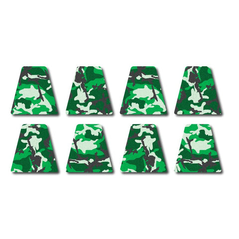 3M Reflective Tetrahedron Set - Green Woodland Camo