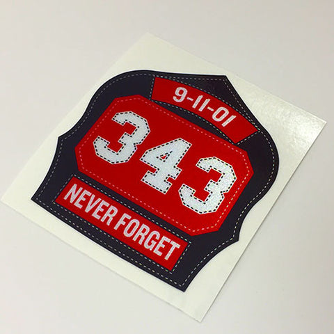 Worcester 6 Memorial Decal