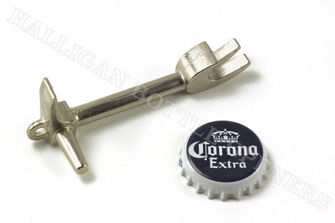 Tactical Black Halligan Bar Bottle Opener
