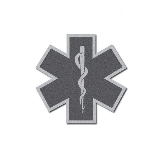 Tactical Star Of Life Reflective Decal 2 Quot The Bravest