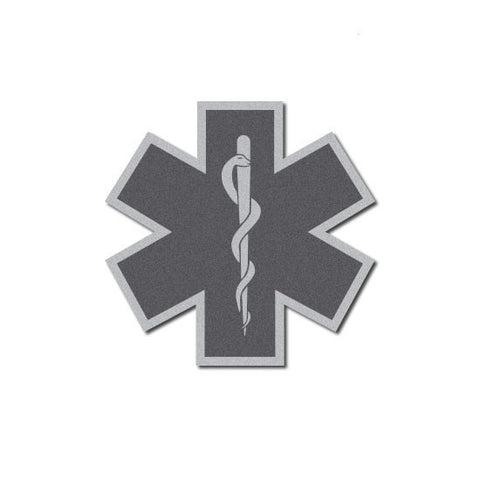 Star of Life Reflective Decal - 3""