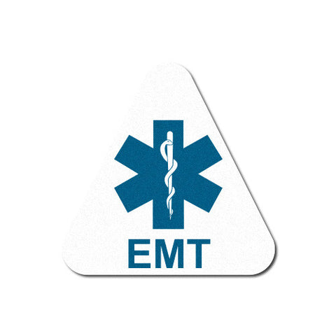 Reflective White EMT Triangle