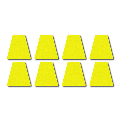 Tetrahedron Set - Lime Yellow