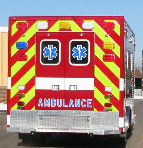 """AMBULANCE"" Decal - 6"" Tall"