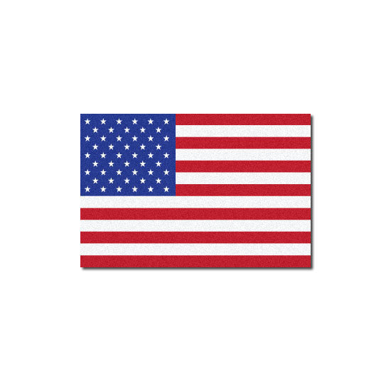 Reflective American Flag Decal