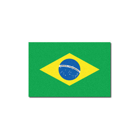 Reflective Brazilian Flag Decal