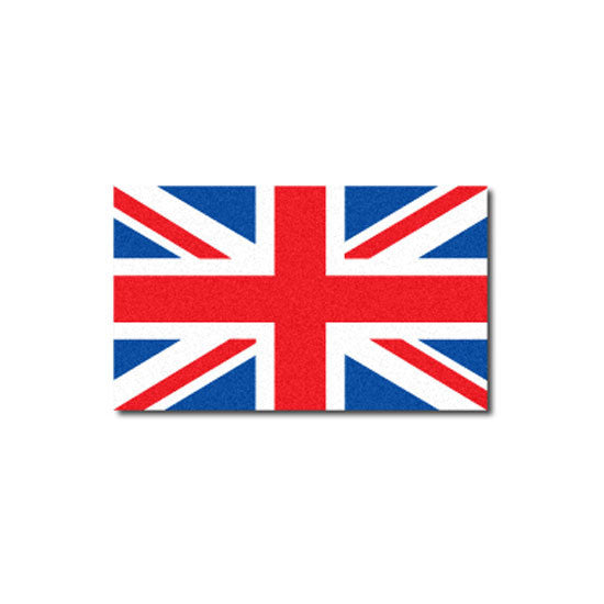 "Reflective British ""Union Jack""  Flag Decal"