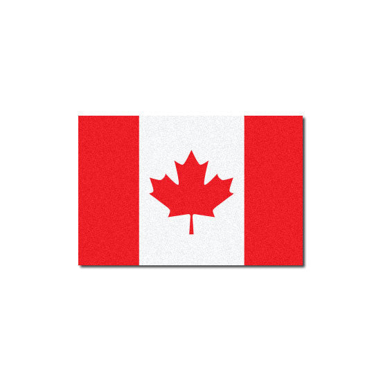 Reflective Canadian Flag Decal