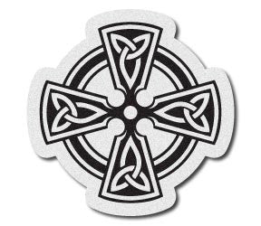 Reflective Celtic Cross