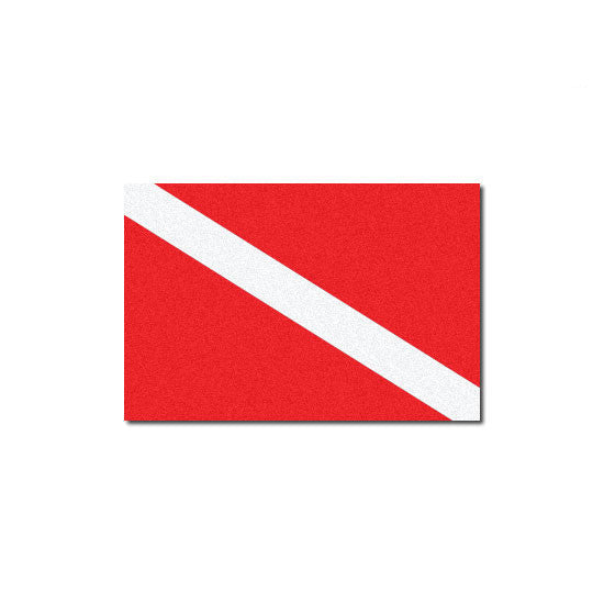 Reflective Dive Flag Decal