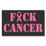 F*ck Cancer - Breast Cancer Awareness Decal