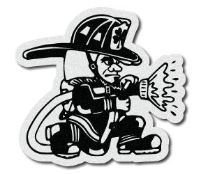 Fighting Irish Firefighter Decal