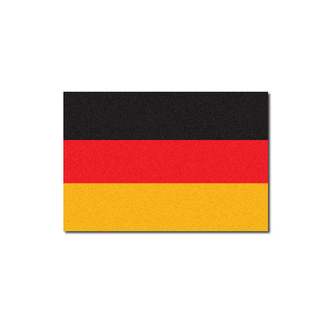 Reflective German Flag Decal