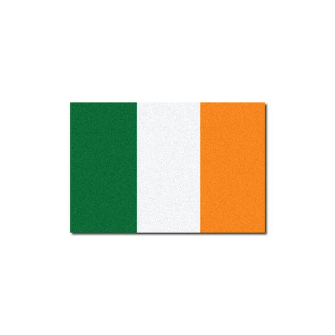 Reflective Irish Flag Decal