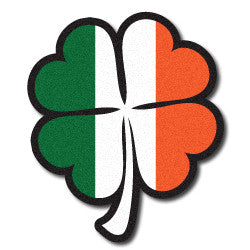Reflective Irish Flag Shamrock