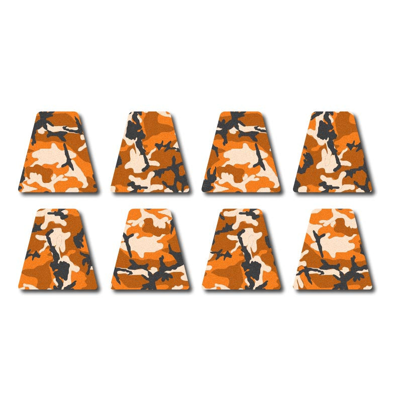 3M Reflective Tetrahedron Set - Orange Woodland Camo