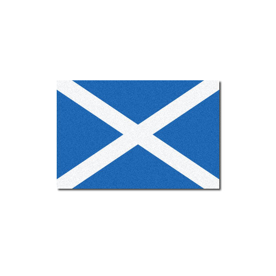 Reflective Scottish Flag Decal