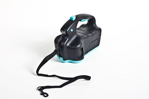 UltraLeash - Retractable Dog Leash - Aqua