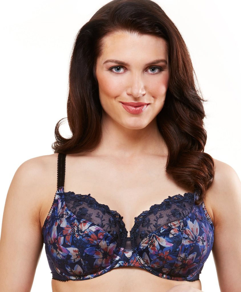 *New* St. CROIX #10111 3-section semi-demi underwire bra