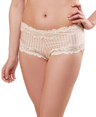 BARBADOS #15232 Stripe mesh boyshort
